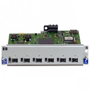 J4893A#ABA - HP ProCurve Switch 4104GL/4108GL Mini-GBIC Ethernet Module 6 Open Transceiver Slots