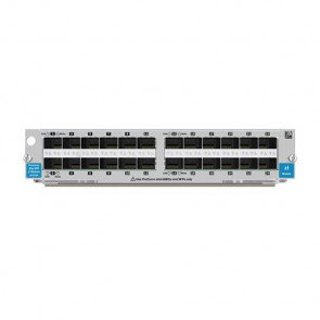 J8706A - HP ProCurve 5400zl 24-Ports 10/100/1000Base-T Integrated PoE (mini-GBIC) Expansion Module
