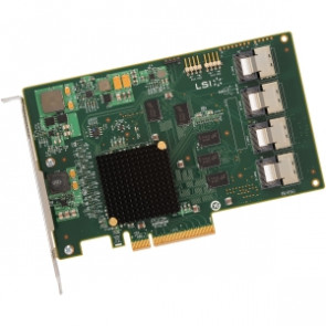LSI00244 - LSI Logic 9201-16i 16-port SAS Controller - Serial Attached SCSI (SAS) Serial ATA/600 - PCI Express 2.0 x8 - Plug-in Card