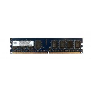 NT2GT64U8HD0BY-AD - Nanya 2GB DDR2-800MHz PC2-6400 non-ECC Unbuffered CL6 240-Pin DIMM 1.8V Dual Rank Memory Module