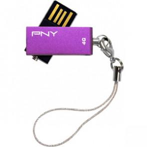 P-FDU4GBSV-EF/PRPL - PNY Micro Swivel Attach
