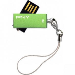 P-FDU4GBSV-EF/WMGRN - PNY Micro Swivel Attach