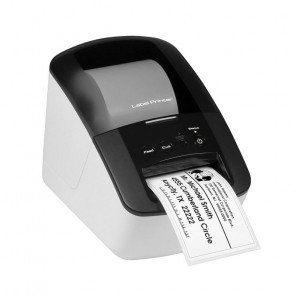 PJ722 - Brother PocketJet Direct Thermal Printer Monochrome Portable Plain Paper Print
