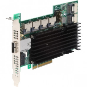 RS2SG244 - Intel RS2SG244 24-port SAS RAID Controller - Serial ATA/600 Serial Attached SCSI (SAS) - PCI Express 2.0 x8 - Plug-in Card - RAID Supported