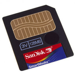 SDSM-128-770 - SanDisk 128MB Smart Media Flash Memory Card