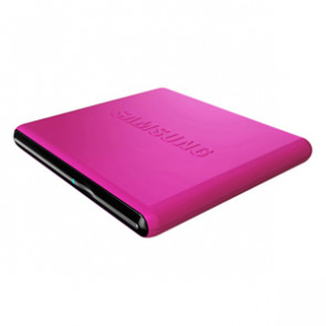 SE-S084D/TSPS - Samsung SE-S084D External dvd-Writer - Retail Pack - Pink - dvd-ram