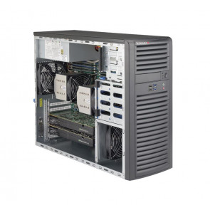 SYS-7038A-I - Supermicro SuperWorkstation Dual LGA2011 900W Mid-Tower Workstation Barebone System (Black)