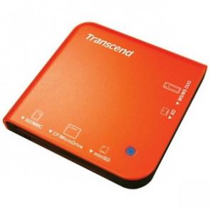 TS-RD13R - Transcend Portable Multi-Card Reader - MMCplus Microdrive miniSD Card Memory Stick Memory Stick Duo Memory Stick PRO MultiMediaCard (M