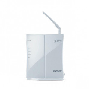 WHR-HP-GN - Buffalo AirStation WHR-HP-GN Wireless Router IEEE 802.11b/g 1 x Antenna ISM Band 150 Mbps Wireless Speed 4 x Network Port 1 x Broadband Port
