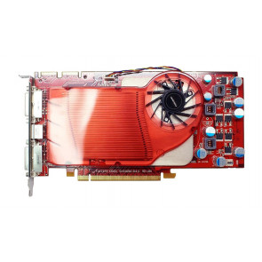 WP002 - Dell 256MB ATI Radeon HD 2600XT 256MB DDR4 PCI-Express x16 Dual DVI S-Video Video Graphics Card