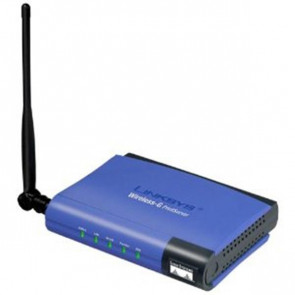 WPS54GU2 - Linksys Wireless Print Server G Lan Pa (Refurbished)