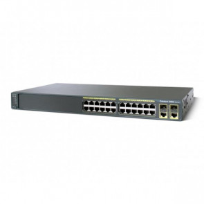 WS-C2960-24TC-L - Cisco 2960 Series 24-Port Fast Ethernet 2-Port SFP Switch