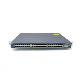WS-C2960-48PST-S - Cisco 2960 Series 48-Port Fast Ethernet PoE 2-Port SFP Switch