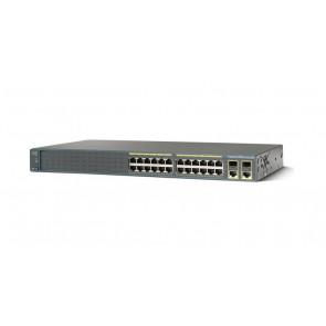 WS-C2960+24TC-S - Cisco WS-C2960+24TC-S 2960-Plus Series 24 Port Fast Ethernet Switch
