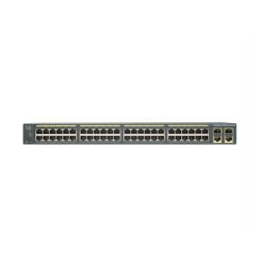 WS-C2960+48TC-S - Cisco WS-C2960+48TC-S 2960-Plus Series 48 Port Fast Ethernet Switch
