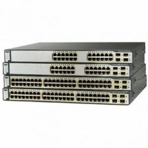 WS-C3750E-24TD-E - Cisco 24x Gigabit Ethernet 2x 10G X2 IP Services Switch