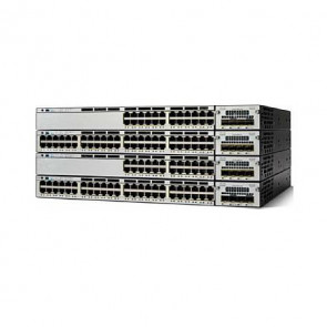 WS-C3750X-24T-S - Cisco 3750-X Series 24x Gigabit Ethernet IP Base Switch