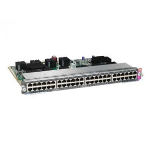 WS-X4648-RJ45V+E - Cisco WS-X4648-RJ45V+E Catalyst 4500E Series 48-Port 802.3af PoE and PoEP Switch