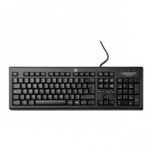 WZ972AA - HP Keyboard Wired Glossy Black USB English (US) PC Volume Control Multimedia Hot Key(s)